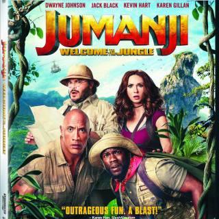 Jumanji Welcome To The Jungle 2017 Bluray 1080p Movie Film Shopee Indonesia