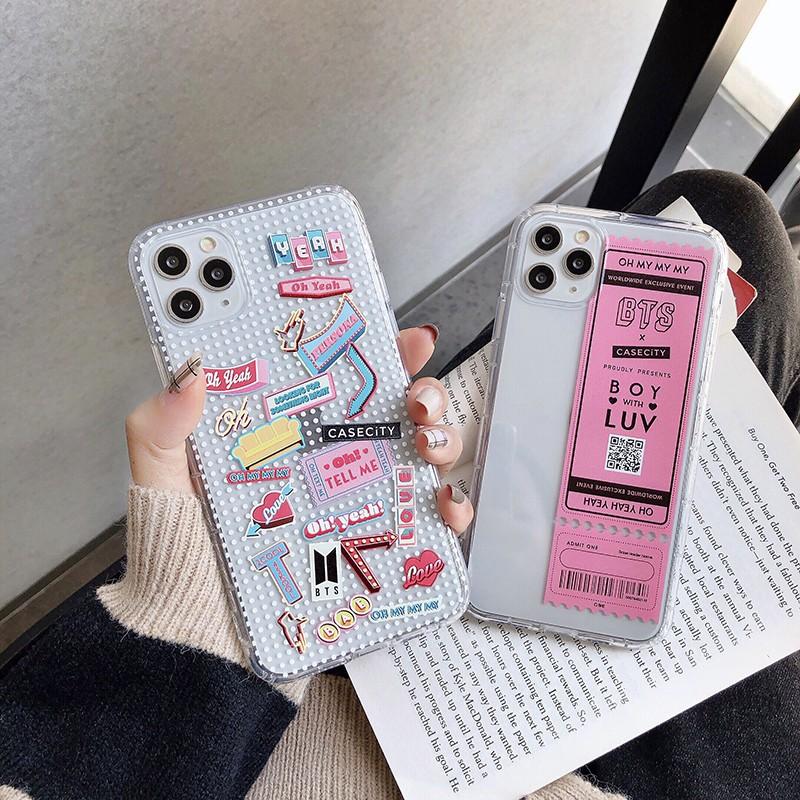 Casing Soft Case Motif BTS untuk iPhone SE 2020 6 6S 6Plus 6SPlus 7Plus 11 7 8 X 8Plus XS OPPO A3S A5S A7 A9 A5 A31 2020 RealMe 5 5S C3 C2 bt21