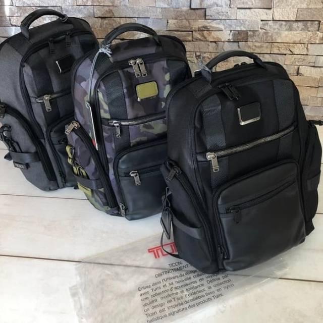Tas Ransel Tumi Alpha Bravo Sheppard Backpack Laptop Import