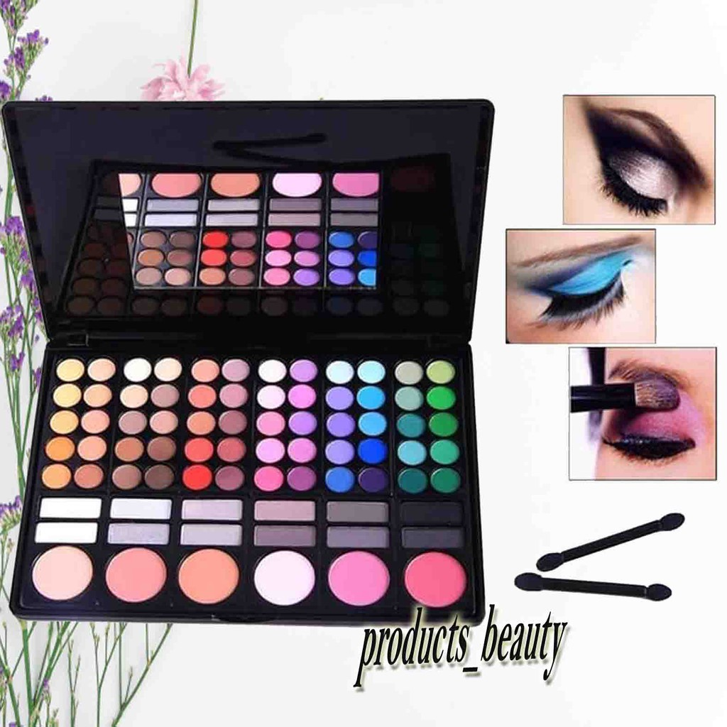 Mac 78 Palette Make Up Kosmetik Beauty Alat Make Up Rias Wajah Wajah Cantik Alami Natural Shopee Indonesia