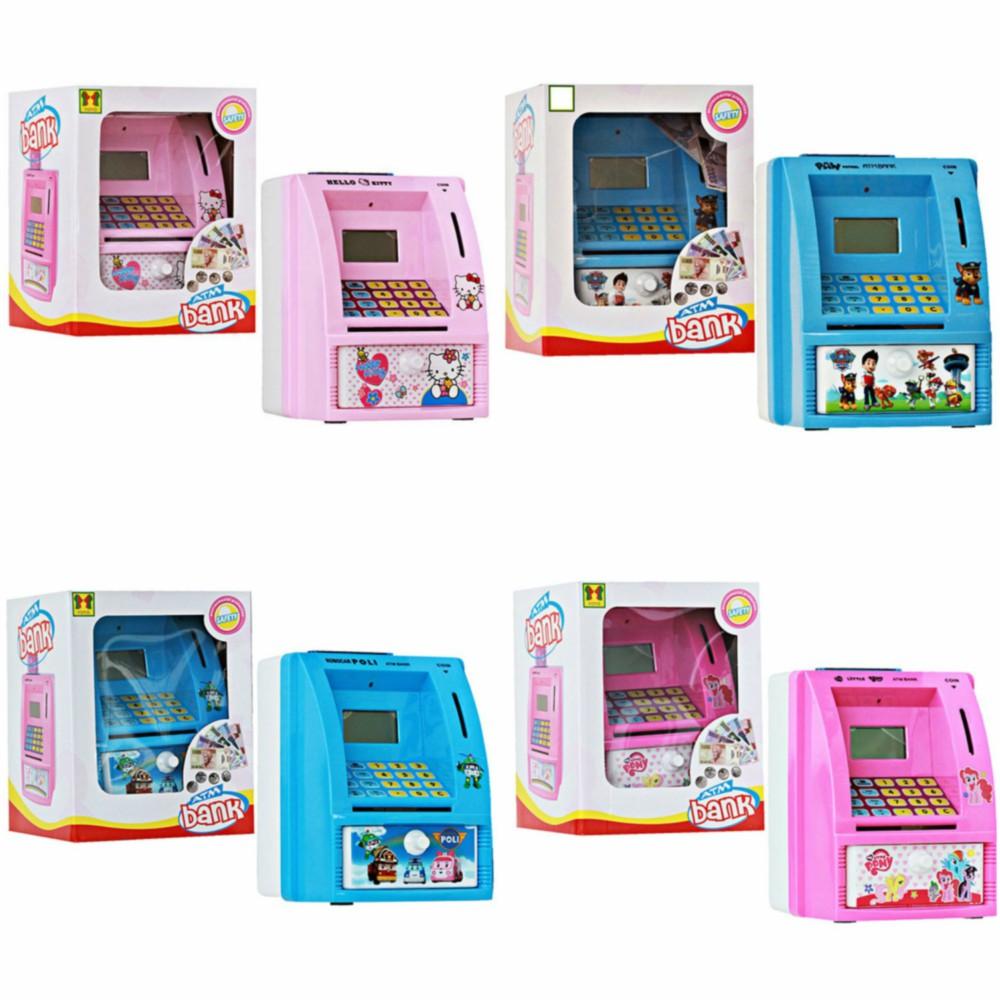 Mainan Edukasi Saving Box Minion - Mainan Celengan ATM baguss | Shopee Indonesia