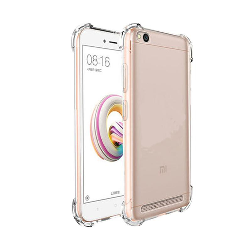 Softcase Bening Xiaomi Redmi 5a Silikon Jelly Kondom Hp Lentur Anticrack Premium Transparan Shopee Indonesia