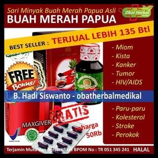 Obat Herbal Kapsul Ekstrak Minyak Buah Merah Papua Herbafood Obat Berbagai Macam Penyakit | Shopee Indonesia