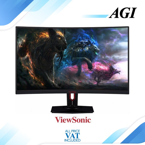 "Monitor LED Gaming Viewsonic XG3240 XG3240C 32"" 2560x1440 144Hz HDMI"