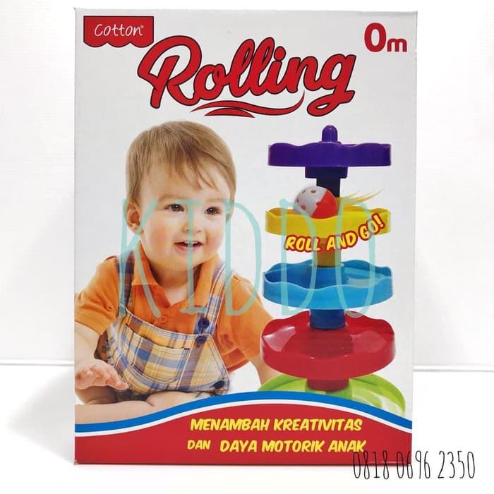 Produk Unggulan Mainan Edukasi - Menyusun Dan Rolling Ball Untuk Bayi Ter