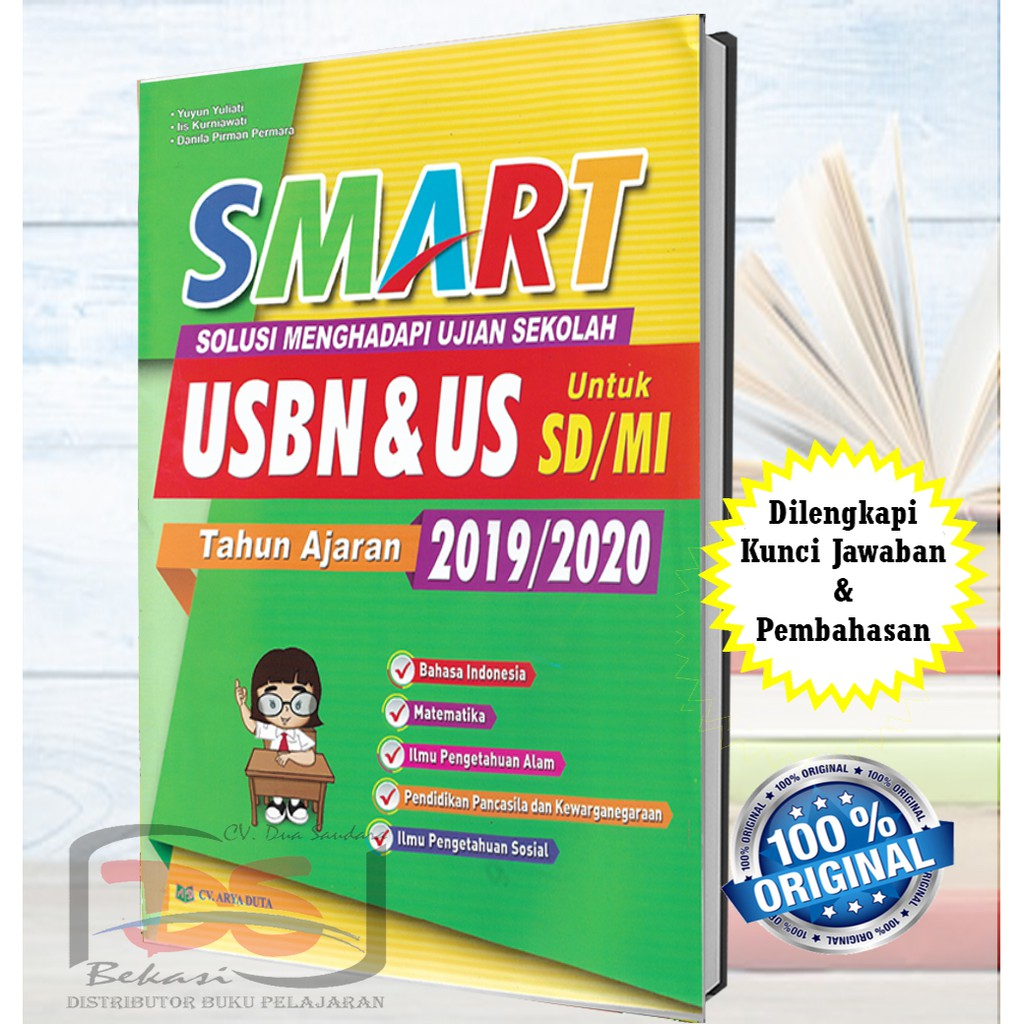 Buku Smart Usbn Dan Us Sd Mi Tahun Ajaran 2019 2020 Shopee Indonesia
