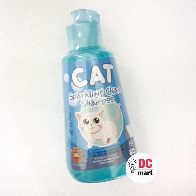 SPARKLING CLEAN CAT Shampo Hewan 150mL / Shampoo anjing kucing musang kelinci RAID ALL-Sparkling Blue