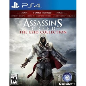 Kaset Game Ps4 Assassin S Creed The Ezio Collection Shopee