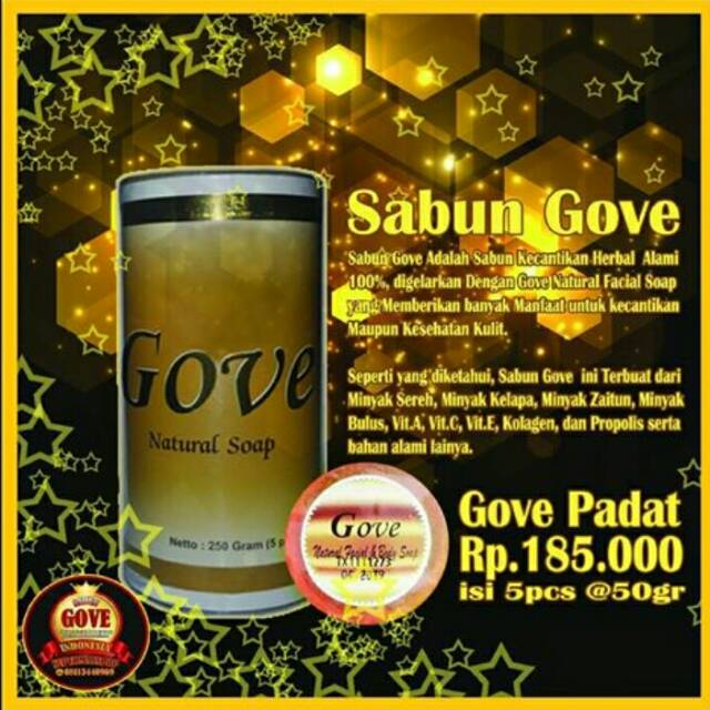 GOVE Sabun Herbal ...
