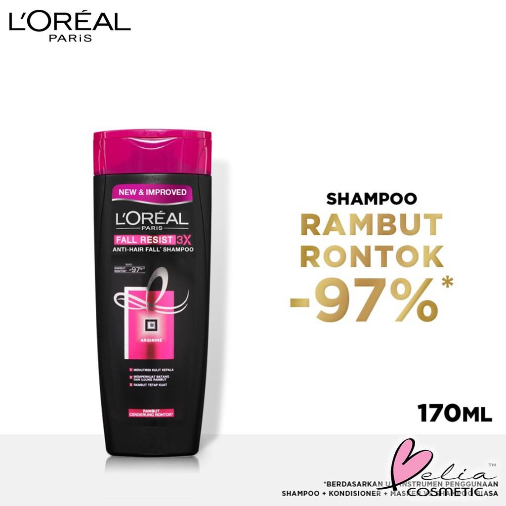❤ BELIA ❤ L'Oreal Paris Shampoo & Conditioner | Anti Rontok | Total Repair | Color Protect LOREAL-1
