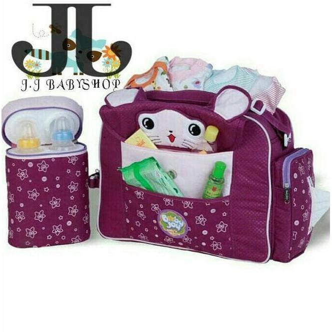 New Gendongan Samping Bayi Baby Joy Topi Saku Seri 2006 Limited Product  58beb35c00