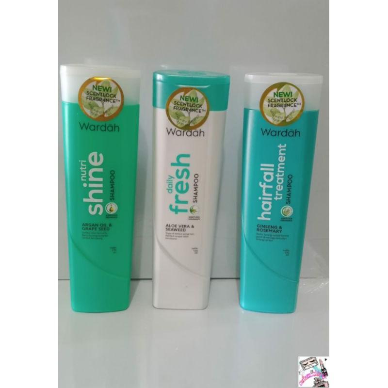 New!!! Wardah Shampoo 170ml