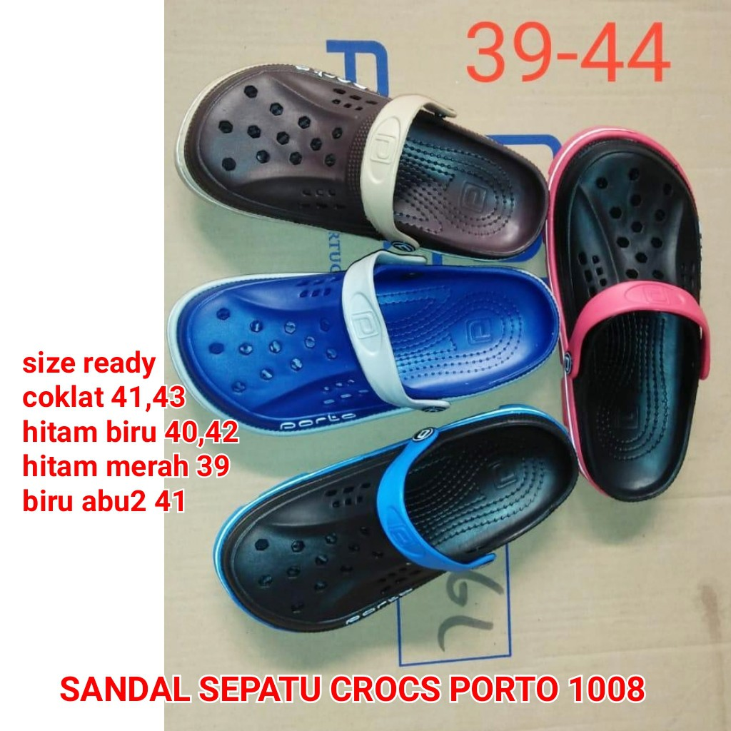 ade42ce494b70 SEPATU SANDAL KARET CROCS DULUX 210A | Shopee Indonesia