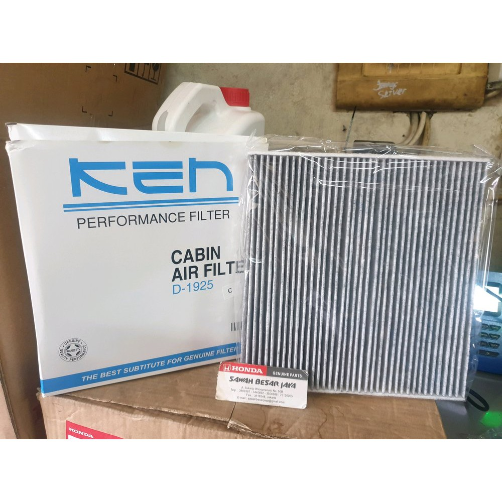 Carbon Pollen Air Cabin Filter For Honda CR-V Odyssey Civic HRV City