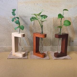 vas pot bunga tanaman air minimalis pajangan dekorasi meja