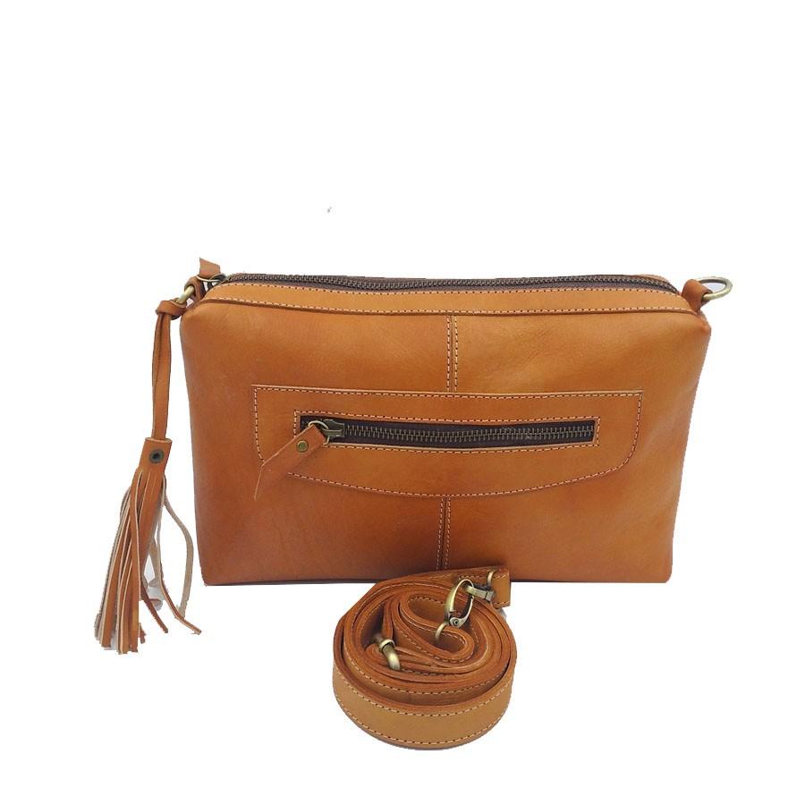 lins shop tas kulit - sling bag polos mini wanita baru - aa  e8245c72fe