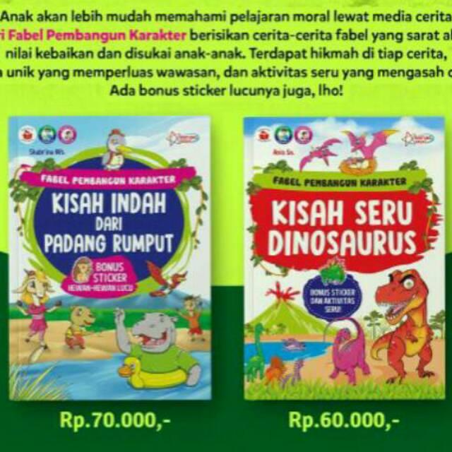Kumpulan Cerita Fabel Pembangun Karakter Shopee Indonesia