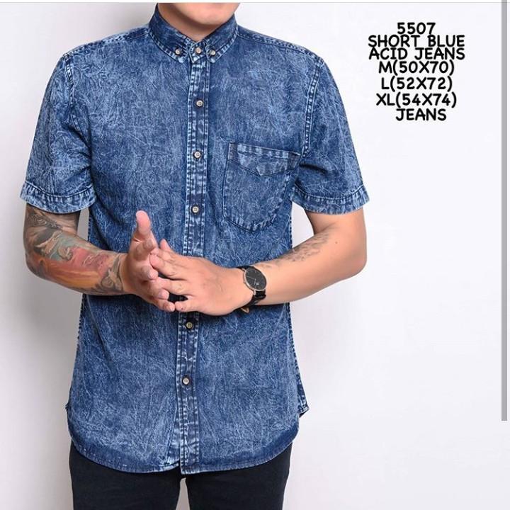 Dapatkan Harga kekinian blouse Kemeja Jeans Blouse Diskon   Shopee Indonesia