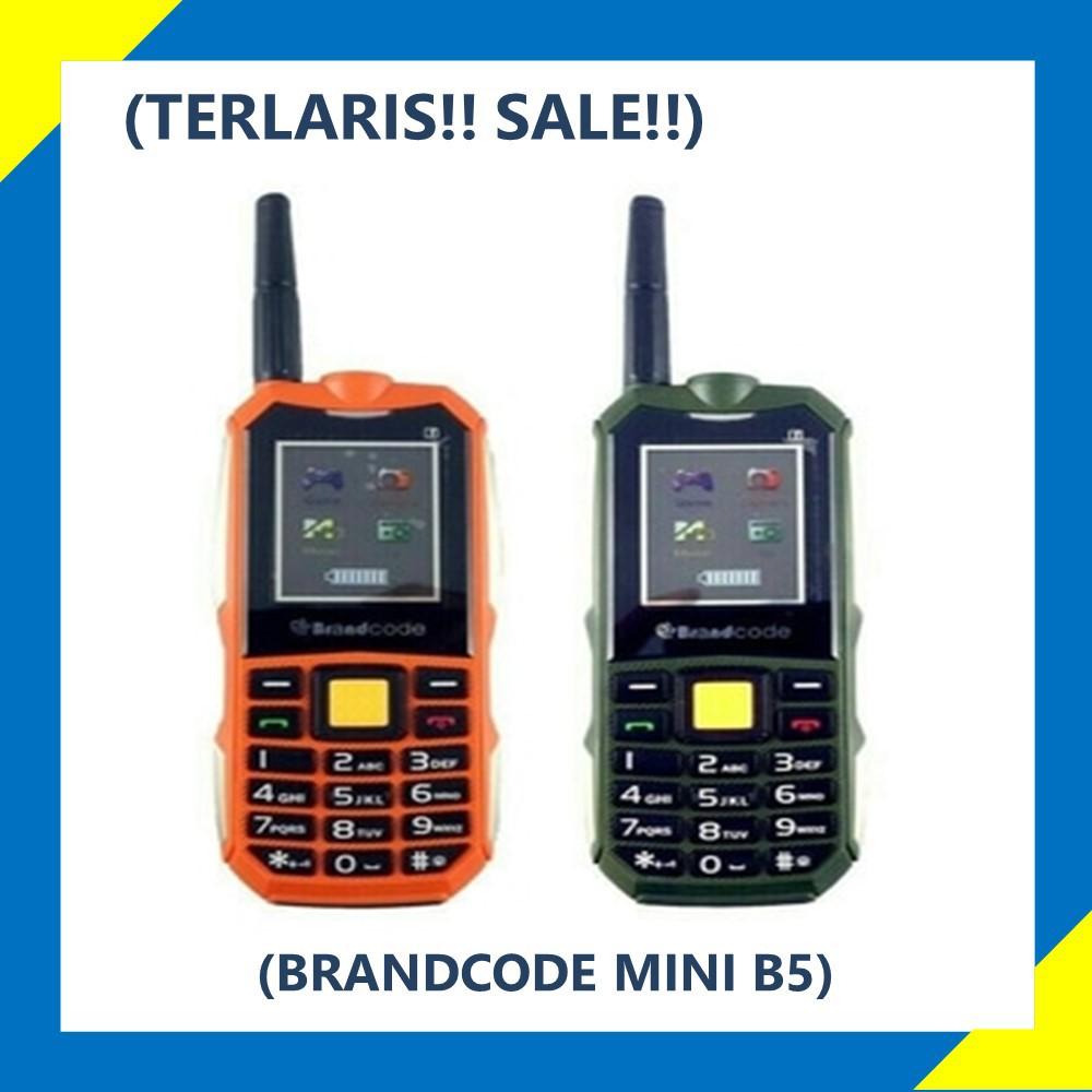 Brancode B5 Mini Bisa Powerbank Orange / Army / Hitam Murah Reseller, Ready