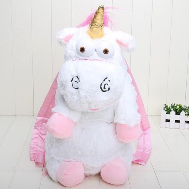 Tas Boneka unicorn fluffy bag unicorn | Shopee Indonesia