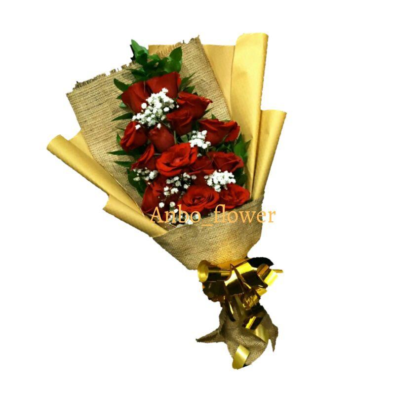 buket bunga/buket wisuda/buket mawar/buket bunga asli/buket bunga segar/buket ultah