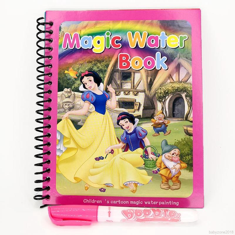 Magic Water Coloring Books Doodle Magic Pen Painting Drawing Board