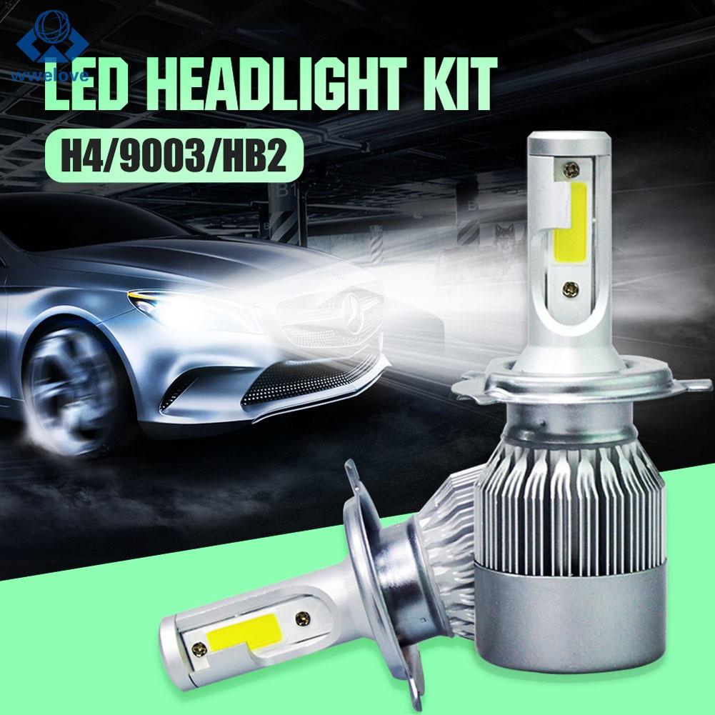 C9 Lampu Led H1 H4 H7 H11 9005 9006 1100lm Warna Putih Untuk Mobil Shopee Indonesia