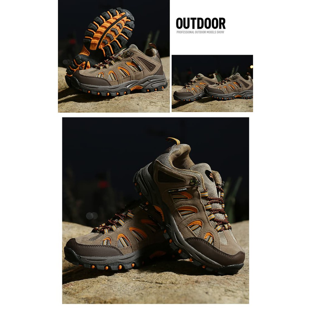 Unik Sepatu Gunung Snta 471 Trekking Hiking Adventure Outdoor 5 467 Series Warna Berkualitas Shopee Indonesia