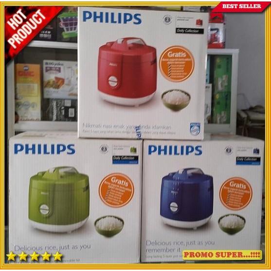 PHILIPS RICE COOKER HD 3127/3129 MAGIC COM HD3129 - HIJAU BIRU merah | Shopee