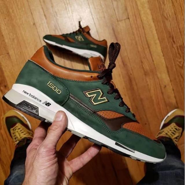 New Balance 1500 Green Tan for man size 40-44 Premium Original BNIB