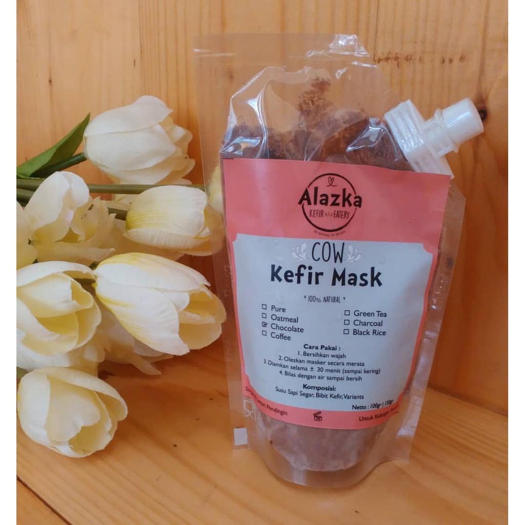 Chocolate Kefir Mask Shopee Indonesia Black
