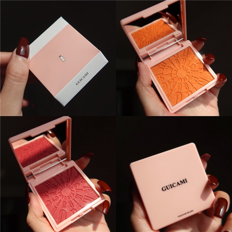 Face Blush Makeup Palette Matte Blusher