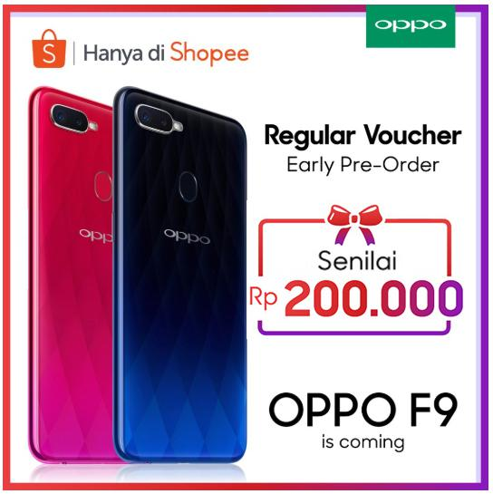 Hanya Di Shopee Regular Voucher Oppo F9 Shopee Indonesia