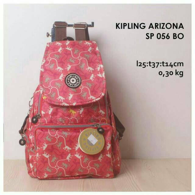 8305 RANSEL IMPORT - KIPLING - BACKPACK SPORTY - FASHION - RANSEL | Shopee Indonesia