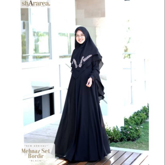 Mehnaz Bordir Set By Shararea Shopee Indonesia