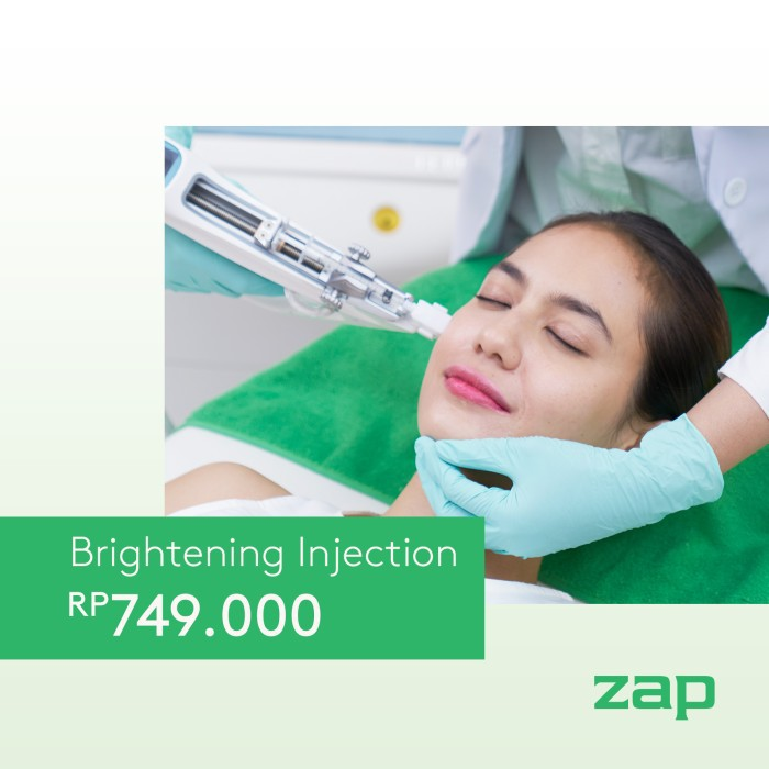 Zap Clinic Brightening Injection Shopee Indonesia