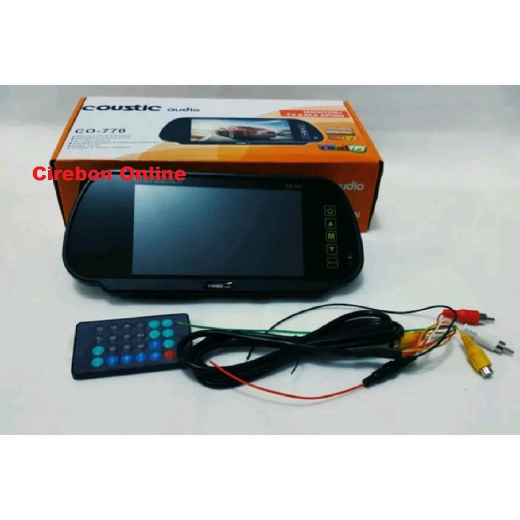 Tv Spion 7 Inch Dengan Tuner Tv Tv Mobil Model Spion Shopee Indonesia