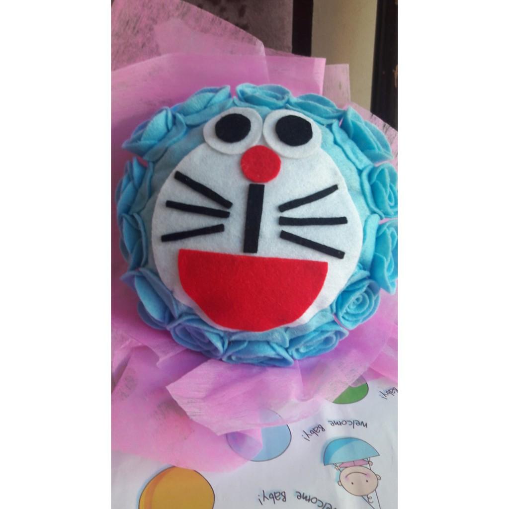 Dijual Buket Bunga Doraemon Murah