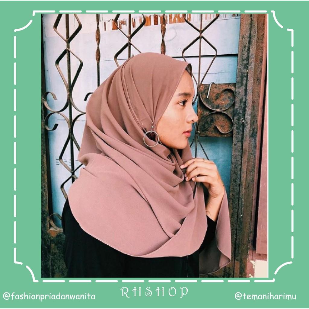 Pashmina Bahan Jatuh Pashmina Arab Pashmina Diamond Italiano Premium Pashmina Sabyan Shopee Indonesia