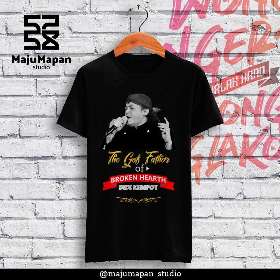 Kaos Didi Kempot The God Father Of Broken Heart Shopee Indonesia