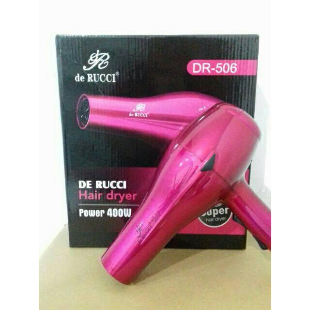 HAIR DRYER DERUCCI RED  c3dbb01317