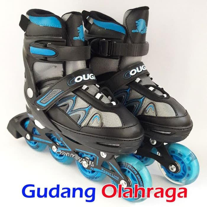 Sepatu Roda COUGAR Inline Skate MZS835L Balck White  5c0098ebe7