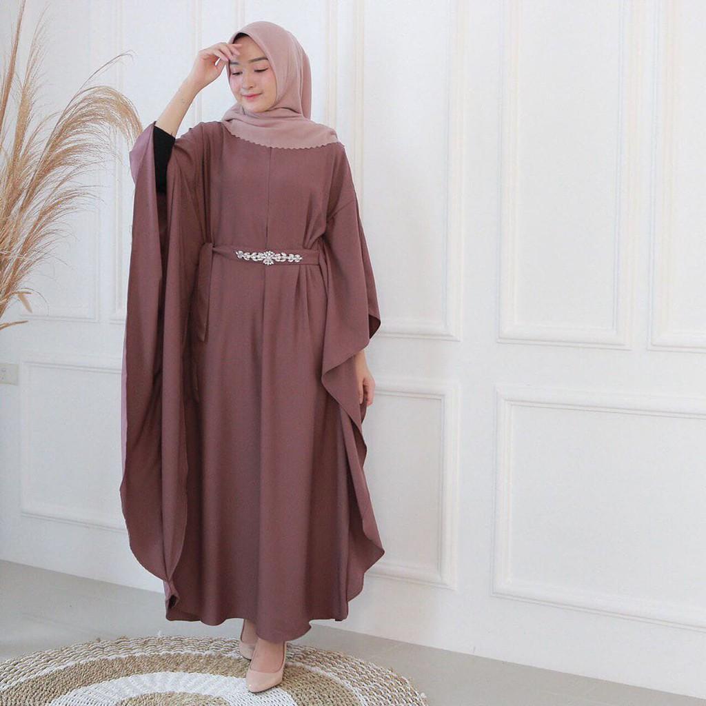 Harga Gamis Syari Terbaru Terbaik Dress Muslim Fashion Muslim Maret 2021 Shopee Indonesia