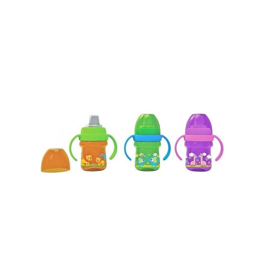 Baby Safe Training Cup Soft Silicone Spout Botol Minum Anak Bayi Feeding Bottle Susu Dot 125ml Regular Ap001 Shopee Indonesia