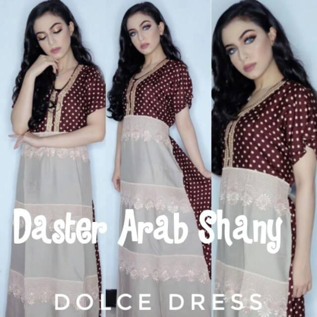 Maxi dress arab/india/dubai/turki dolce sarah daster busui tangan panjang |
