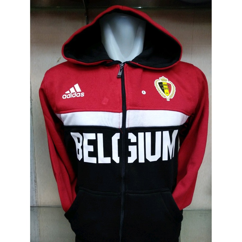 Promo Jaket Timnas Belgia Belgium Home Merah Euro 2016 Murah Bola Grade Ori Indonesia Aff Abu Shopee