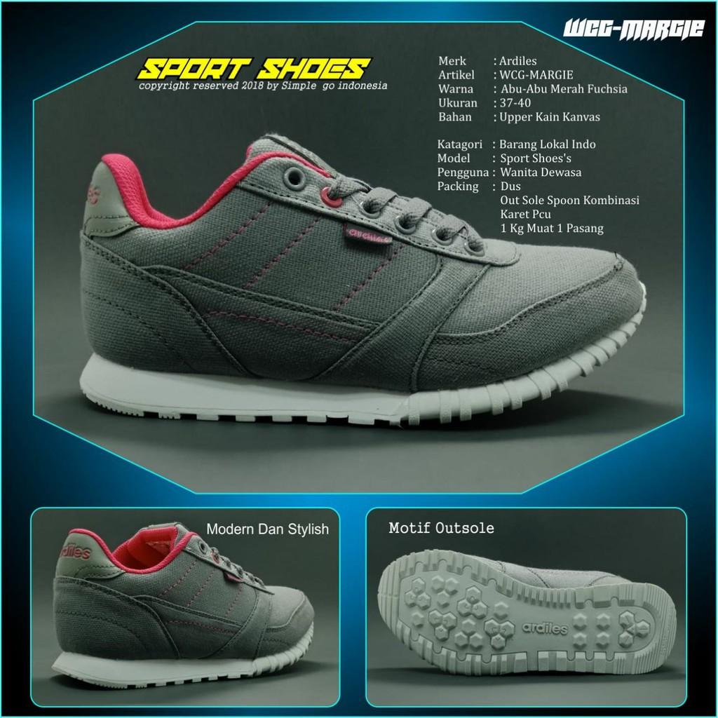 Ardiles sepatu running wanita Margie 37-40  b533aa0b52