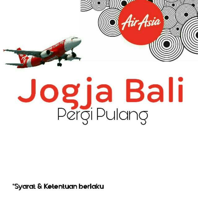 Tiket Promo Airasia Jogja Bali Pp