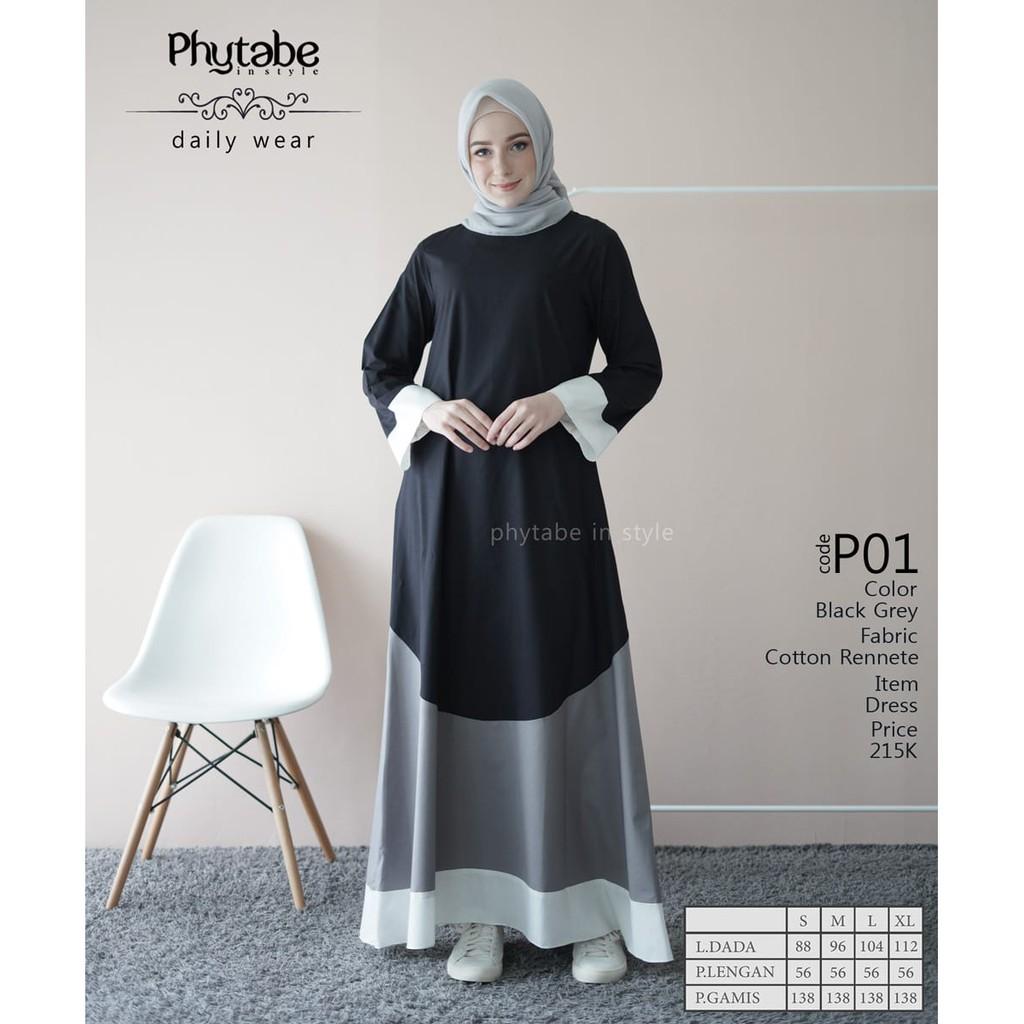 Gamis Katun Murah  Gamis Harian  Gamis Daily Murah  Gamis Katun Polos   Dress Katun Terbaru