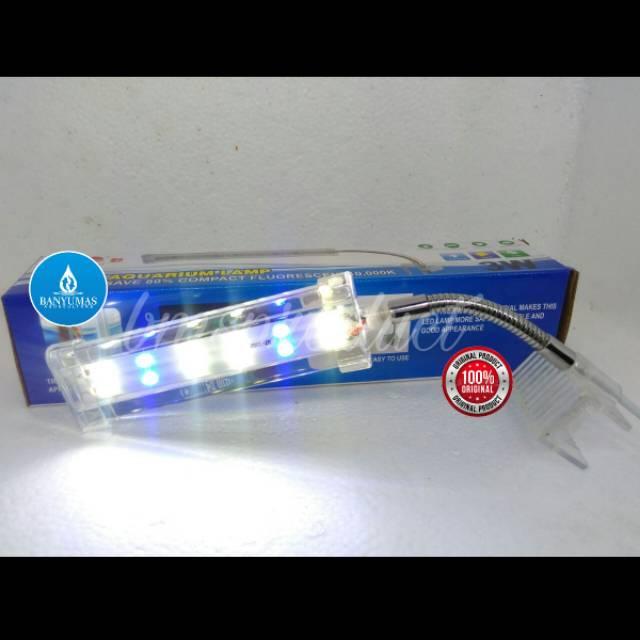 A069 Lampu Led Aquarium Aquascape Yamano 3w Jepit Gantung Foto Studio Cupang Guppy Belajar Murah Shopee Indonesia
